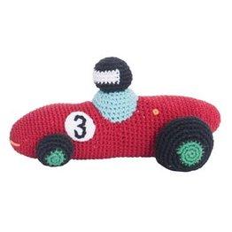 Sebra Gehaakte Racewagen Rood