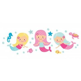 Speckled House Muurstickers Mermaids