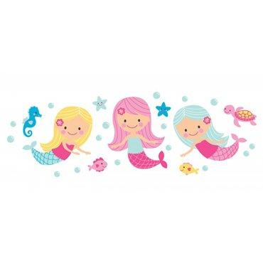 Speckled House Muurstickers Mermaids