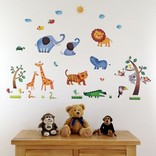 Decowall Muurstickers Jungle