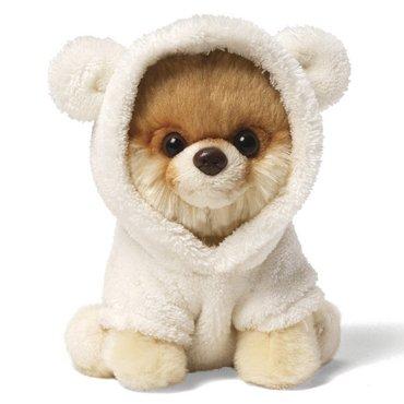 Gund Knuffel hond Itty Bitty Boo Bear Suit