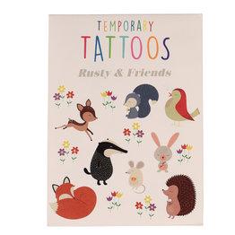 Rex London Tijdelijke Tattoo's Rusty en vriendjes
