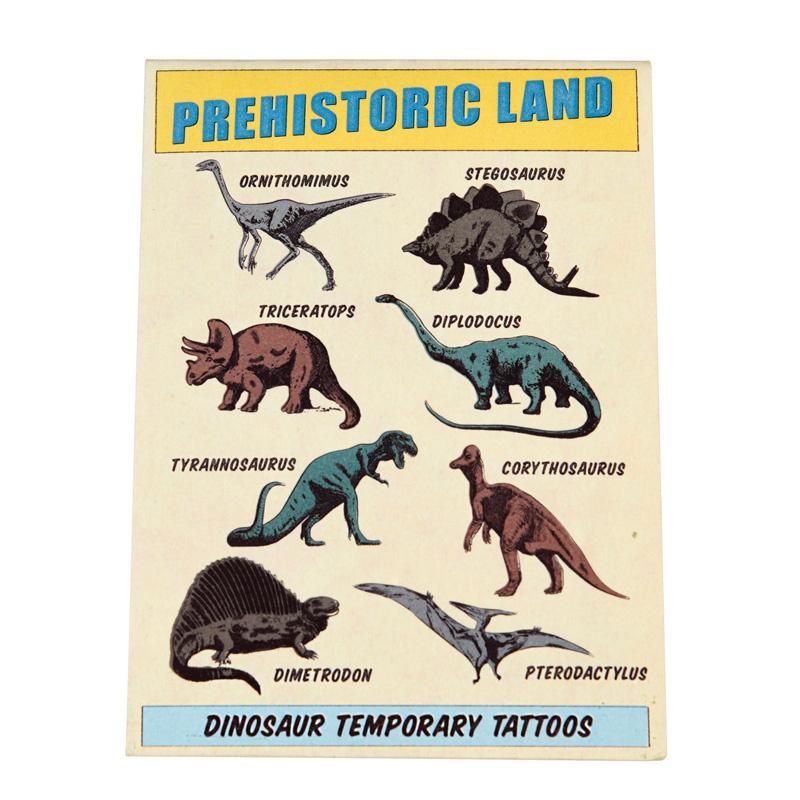 Rex London Tijdelijke Tattoo's Dino's