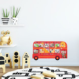 Decowall Muursticker Dierenbus
