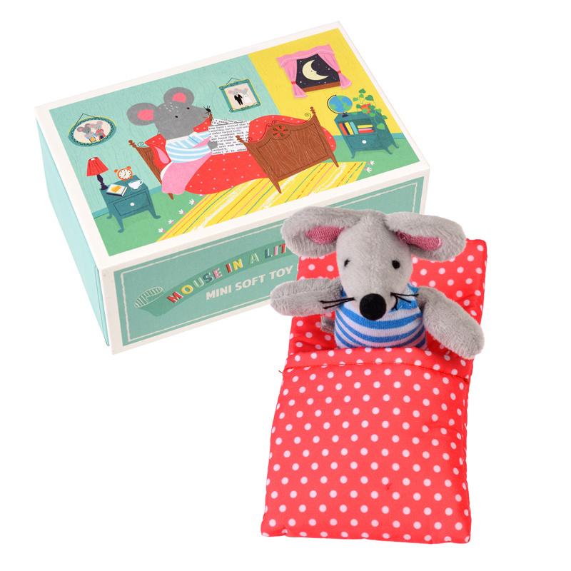 Rex London Knuffel Muis in een doosje