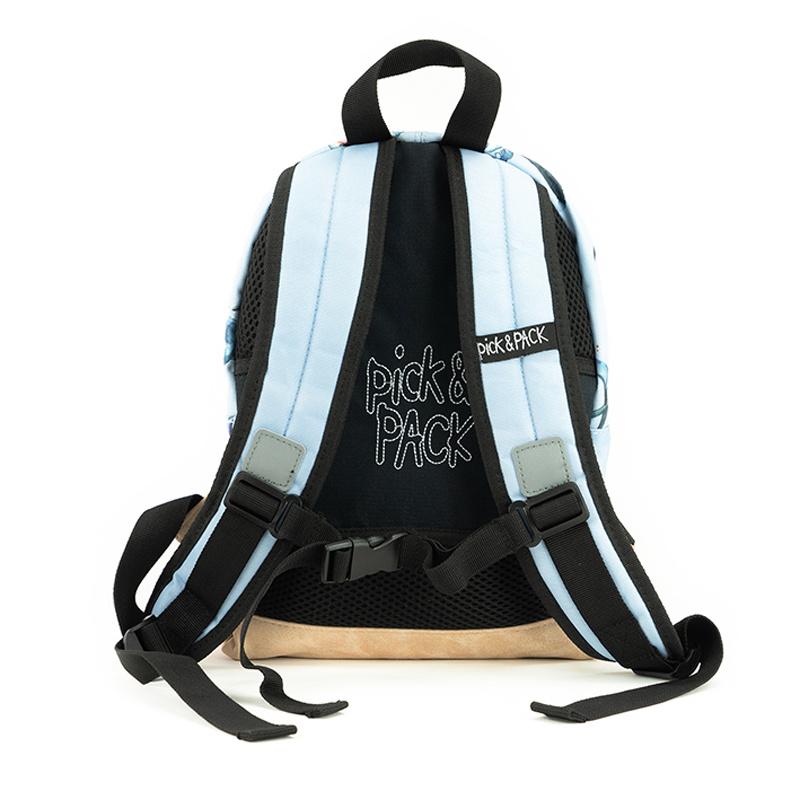 Pick & Pack Kinderrugzak Haaien blauw S