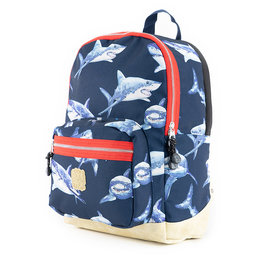 Pick & Pack Kinderrugzak Haaien navy M