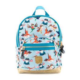 Pick & Pack Kinderrugzak Vogels blauw S