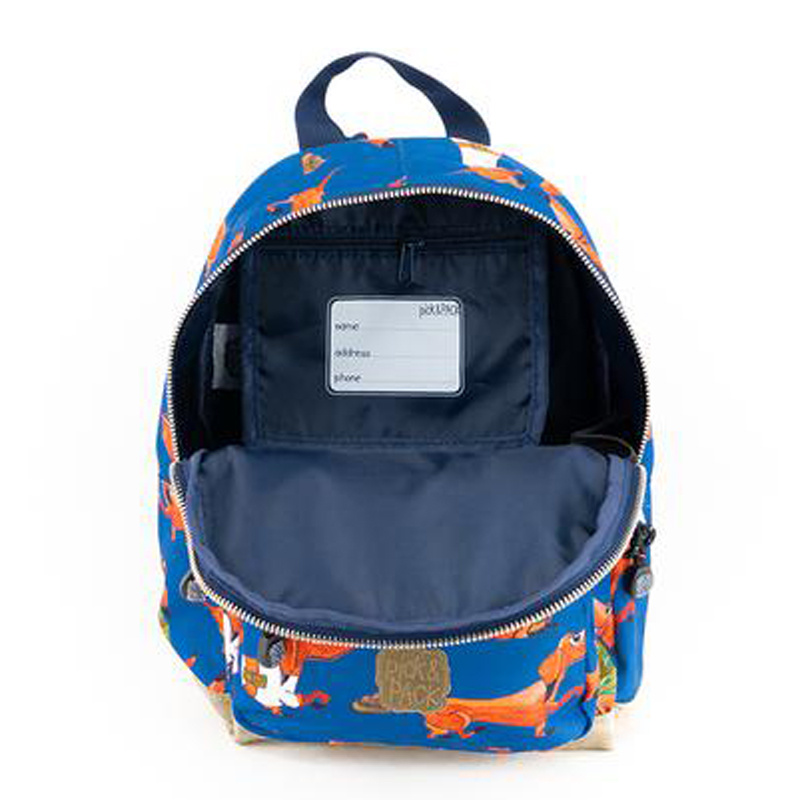 Pick & Pack Kinderrugzak Teckels blauw S