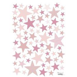 Lilipinso Muurstickers Sterren Superstar Pink Angie
