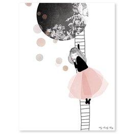 Lilipinso Poster Luna Escalier
