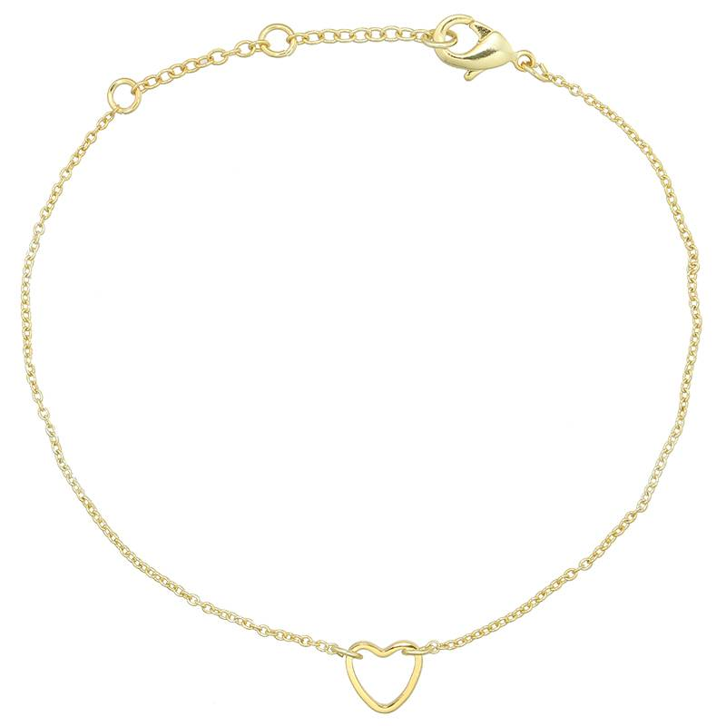 Armband Little Heart goud