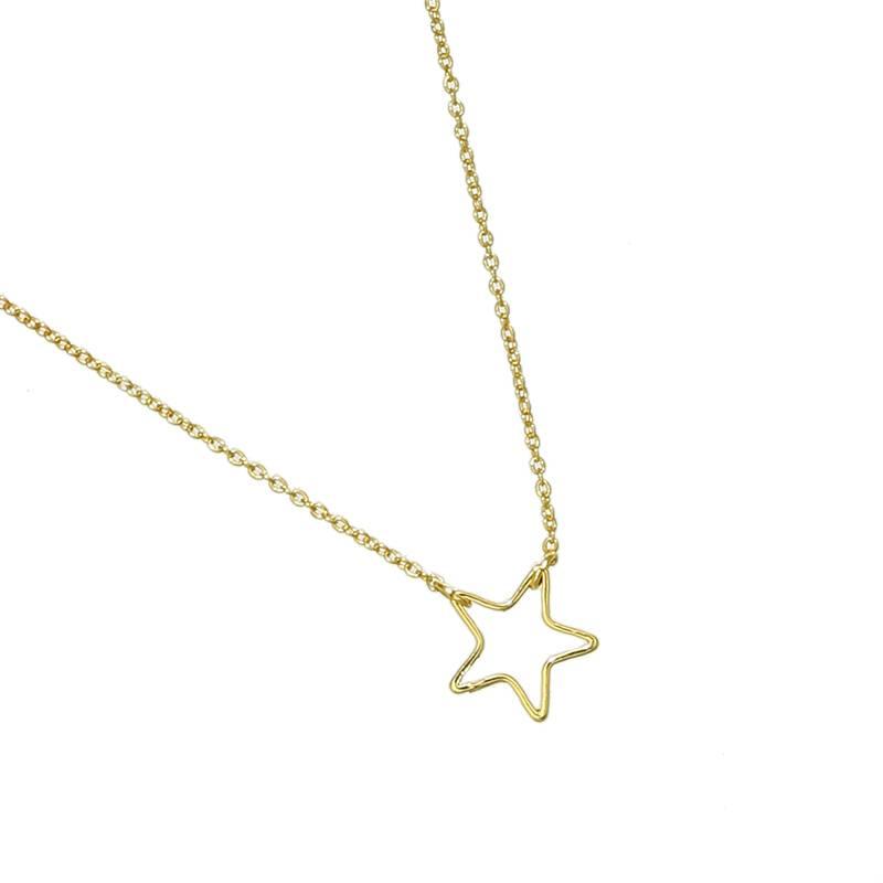 Ketting Little Star goud