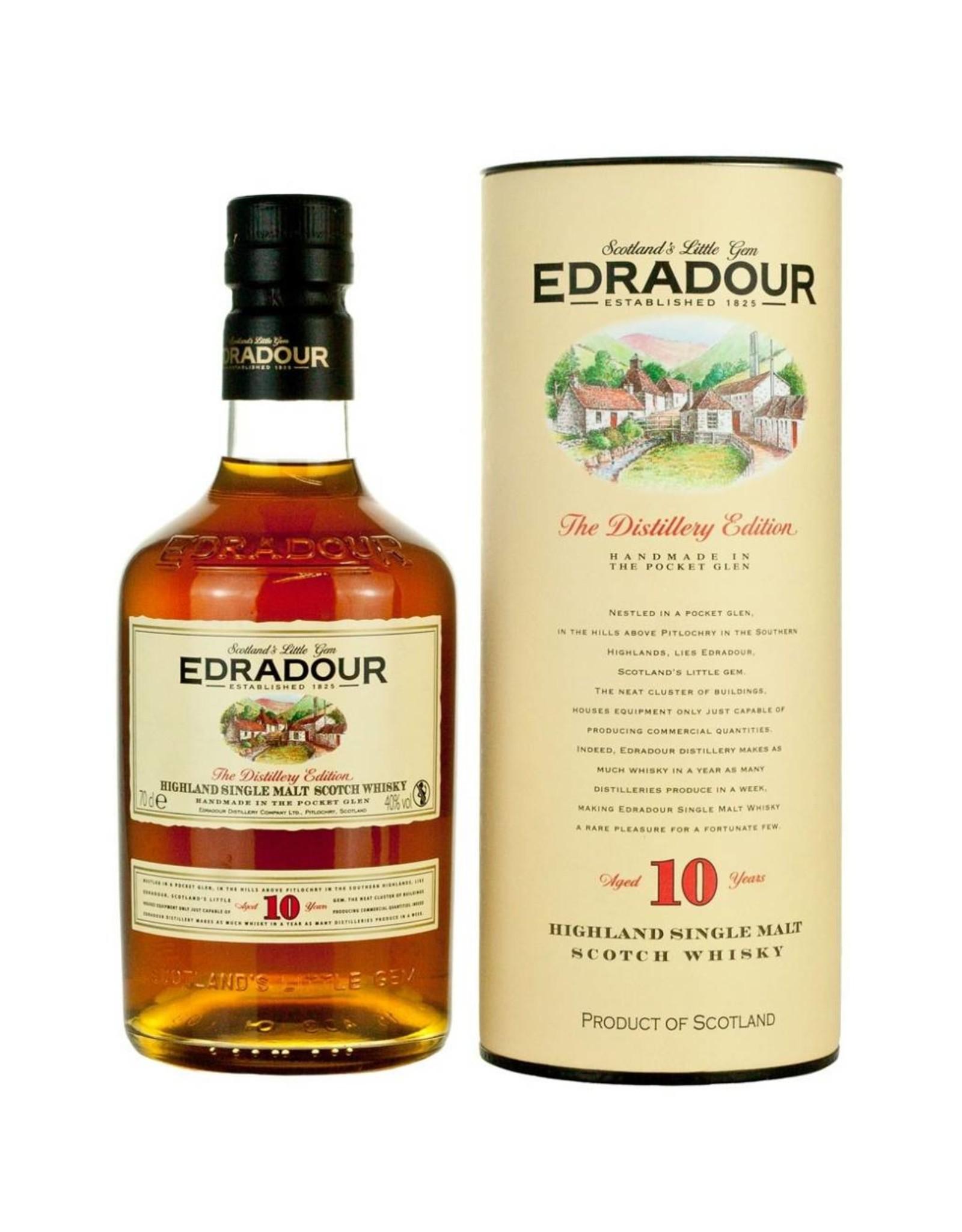 ***AANBIEDING*** Edradour 10 Years 70cl. 40%, Highland Single Malt