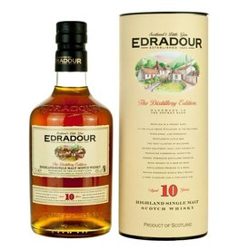 Edradour 10 Years 70cl. 40%, Highland Single Malt