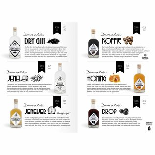 20cl. Distilleerderij De Tok Dry Gin