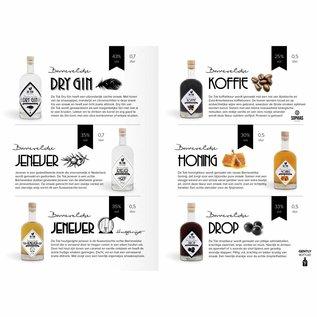 Distilleerderij De Tok Honing (honinglikeur) 50cl.