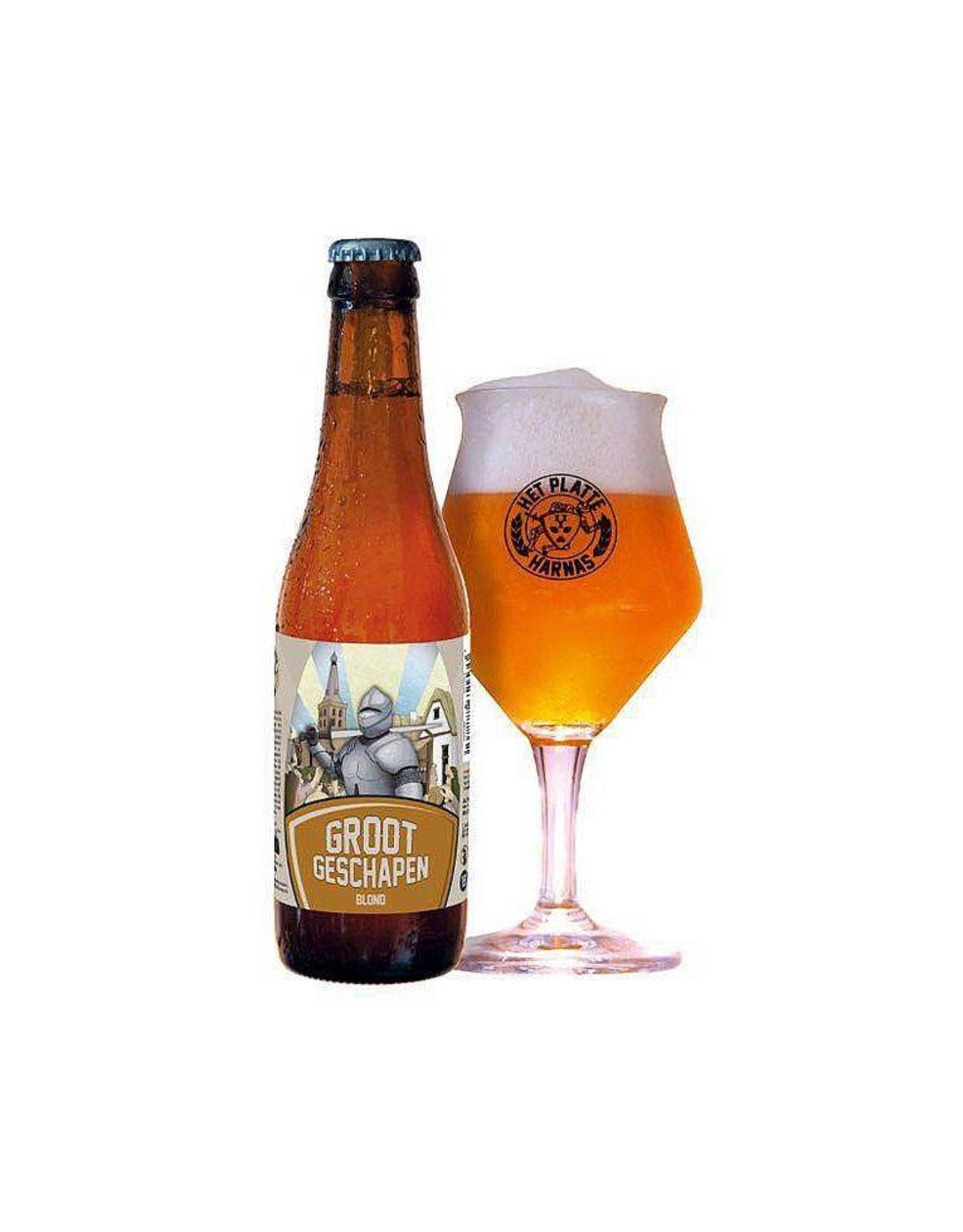 Brouwerij Het Platte Harnas Groot Geschapen-Blond 33cl.
