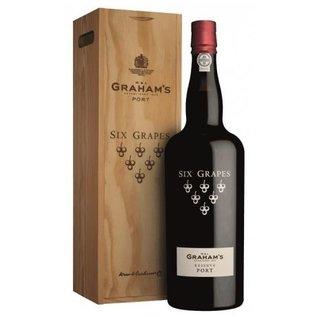 225cl. Graham's Six Grapes Reserve Port tappit hen in individuele kist