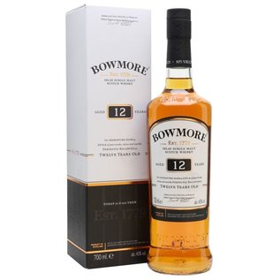 Bowmore 12 years 70cl. 40,0%