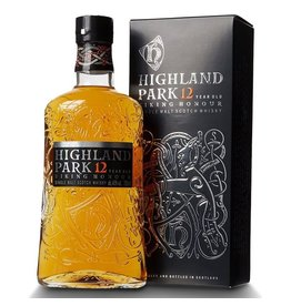 Highland Park 12 year old Viking Honour 70cl. 40%