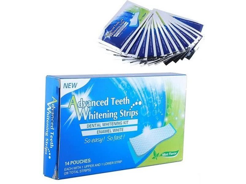 Advanced Teeth Whitening Strips - Zelf Thuis Tanden Bleken