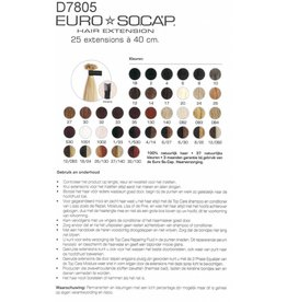 EuroSoCap Extensions 40cm 10st D. GoudBlond