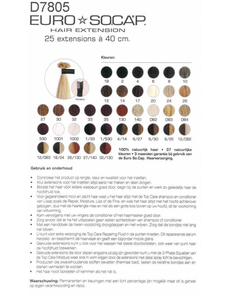 Euro So Cap EuroSoCap Extensions 40cm 10st LichtGoud Blond