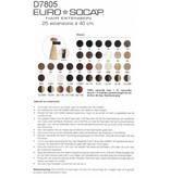 Euro So Cap 6 EuroSoCap Extensions 40cm 25st Chocoladebruin