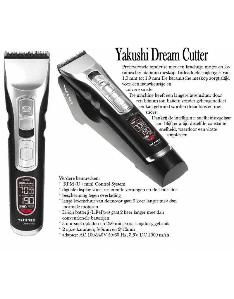 Yakushi Yakushi Dream Cutter met Li-Ionen battery