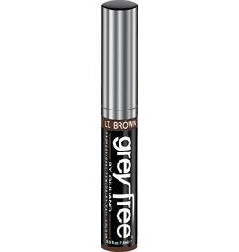 GreyFree Haar Maskara voor grijshaar 7.5ml. licht Bruin