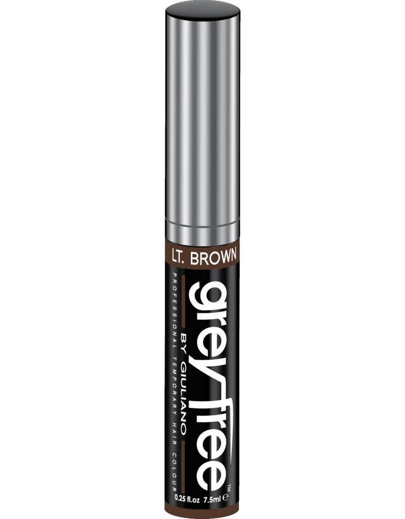 GreyFree Haar Mascara voor grijshaar 7.5ml. licht Bruin