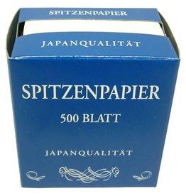 Puntpapier 500 vel gevouwen