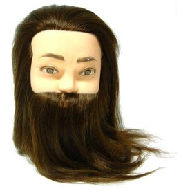 Oefenhoofd met baard