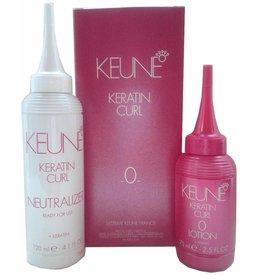 Keune Keratin Curl Lotion nr 0 set