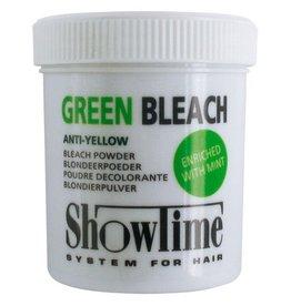 Show time ShowTime Green Bleach Powder Anti Geel pot 100gram