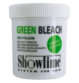 ShowTime Green Bleach Powder Anti Geel pot 100gram