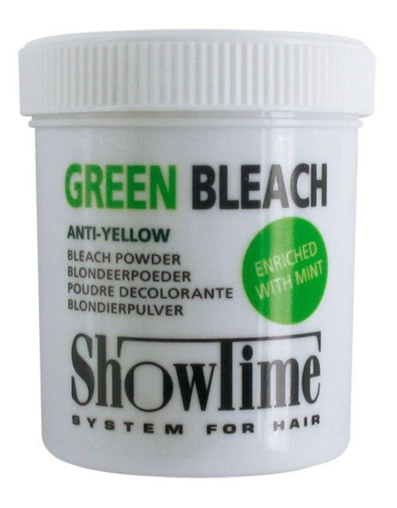 ShowTime Blondeerpoeder Groen Anti-Geel pot 100gram