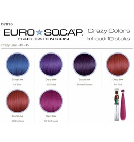 Euro So-Cap Crazy line 40-45cm 10st Blue