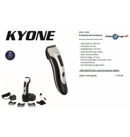 Kyone Kyone ION-C 4100 Clipper met Lithium Stage-2