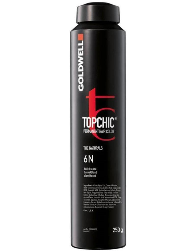 Topchic 6RB  Top Chic Haircolor bus 250ML. Rood Beuken Middel