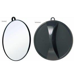 Salonspiegel Rond 25cm m/oog