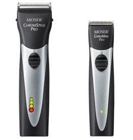 Moser ChromStyle + ChroMini Pro Combipack zwart