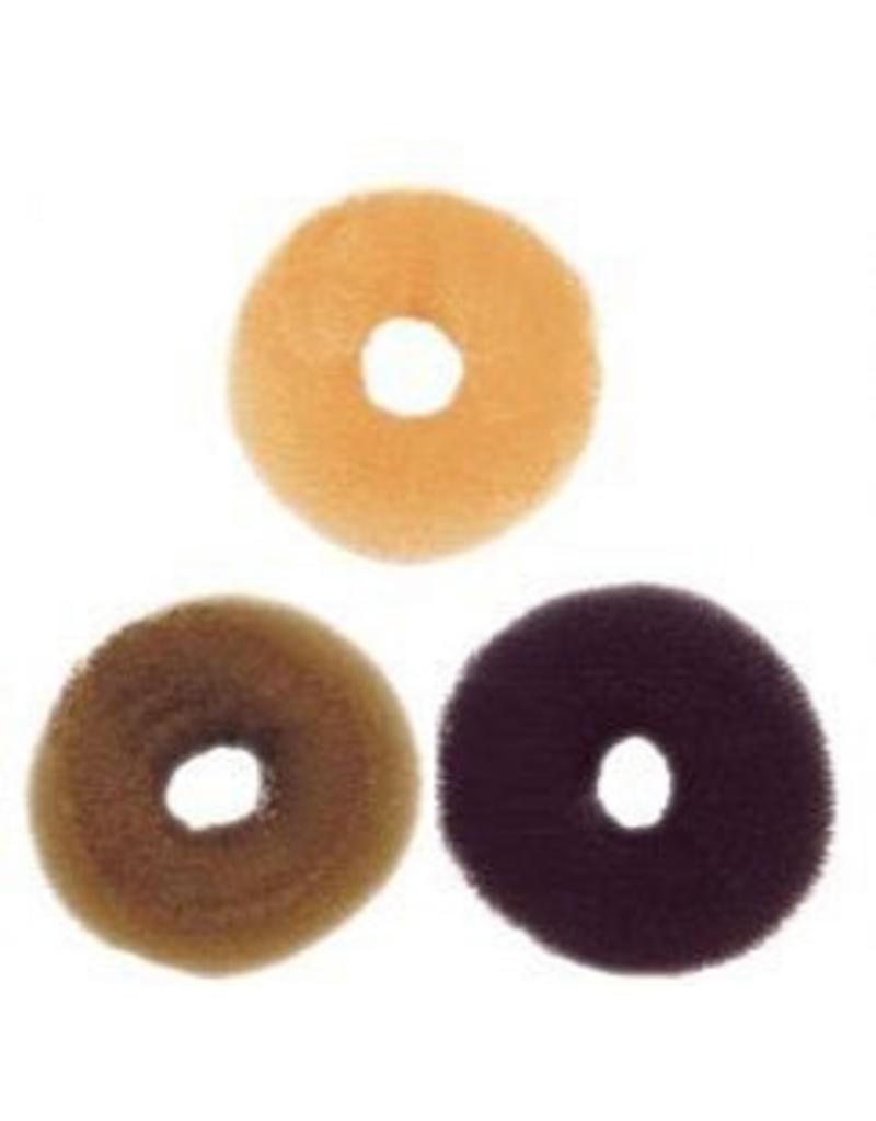 Haardot rond met gat Donker D=8cm