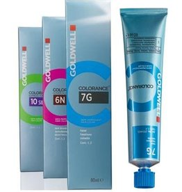 Topchic 8RO  Goldwell Colorance tube 60ml Caral Glow
