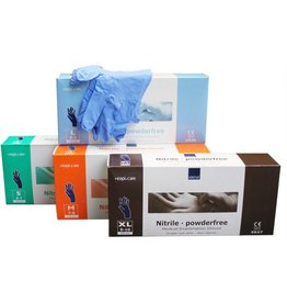 Abena Nitrile Handschoen Ultra Sensitive.XL 100st Blauw