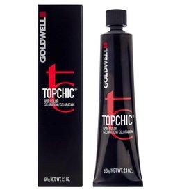 Topchic 7NBk  Goldwell Topchic 60ml M.Blond Refl Golden Topaz 6%