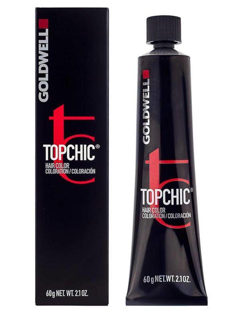 Topchic 6B  Goldwell Topchic60ml Goud Bruin