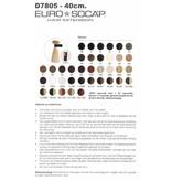Nr. 2 EuroSoCap Extensions 40cm 25st DonkerBruin