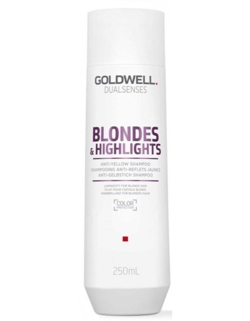 Goldwell Blondes &Highlights Anti-Yellow shampoo 250ml